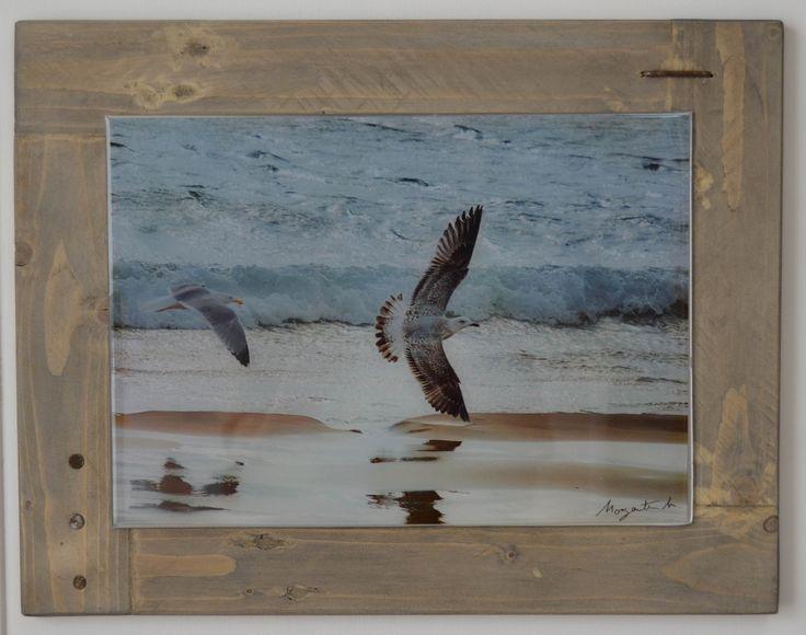 foto su alluminio resinata con cornice in legno riciclato https://www.facebook.com/murodellemeraviglie