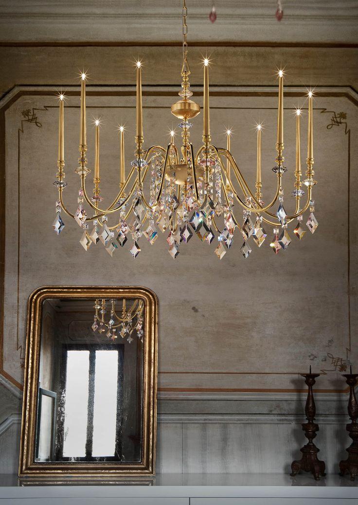 Kaufe Chic 9045 8 Kronleuchter Von Masiero Classica Hängeleuchten Auf  LightingDeluxe.de