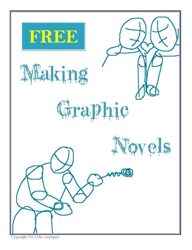 Step-by-Step guide for Making Graphic Novels in your classroom. It's a wonderful way to get your students engaged and combines art with writing. Try it out!