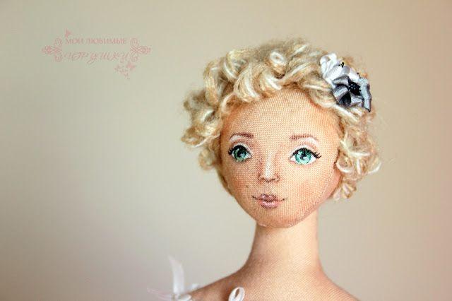 Блог Мои любимые игрушки. Анна Балябина, авторские куклы и игрушки: Селестина