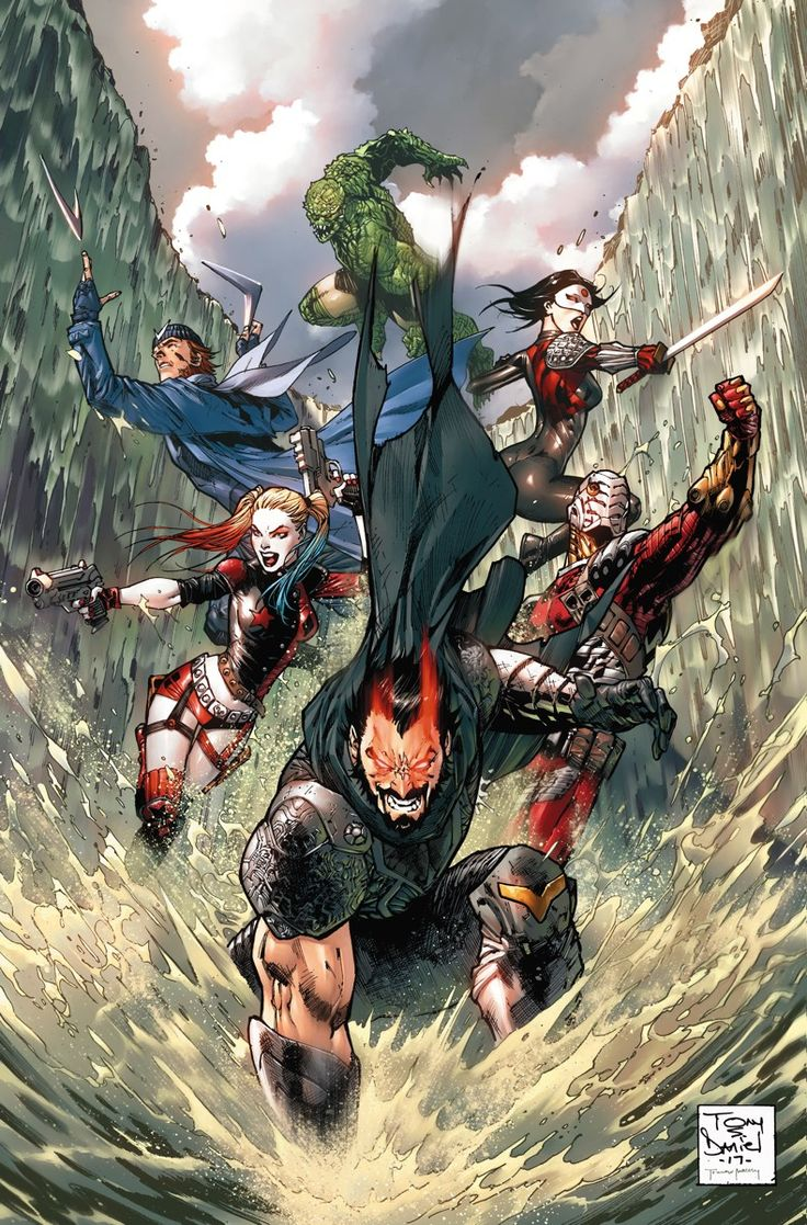 SUICIDE SQUAD #17 Written by ROB WILLIAMS • Art by TONY S. DANIEL and SANDU FLOREA • Cover by TONY S. DANIEL • Variant cover by WHILCE PORTACIO