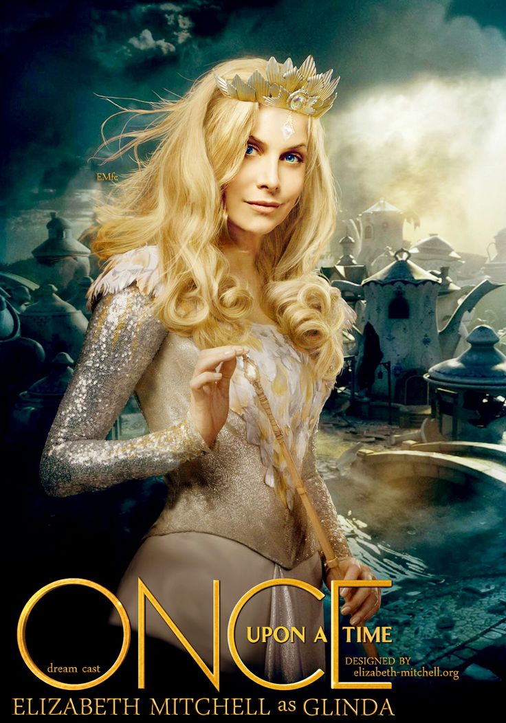 Elizabeth Mitchell, Once Upon A Time, dream cast, Glinda