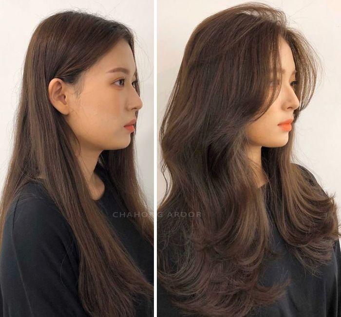 Hair Transformations Jung Eunhye Haircuts Straight Hair Hair Transformation Aesthetic Hair