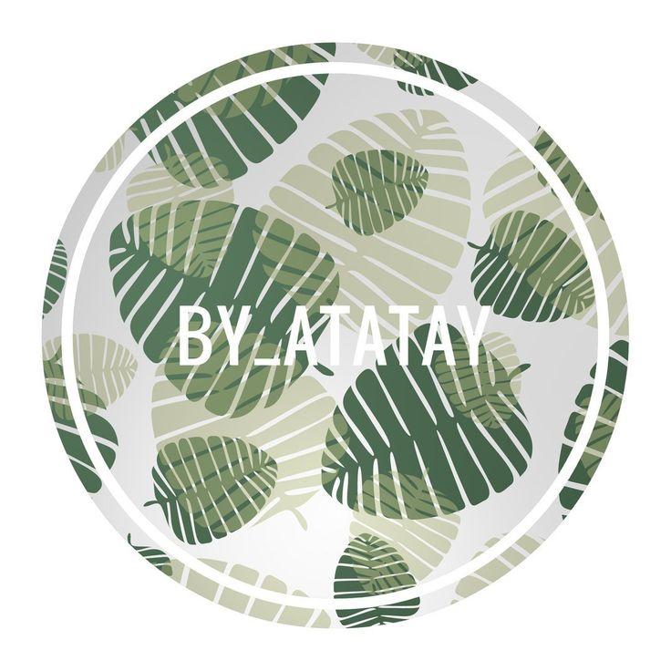 Лето внутри! Листья снаружи🌴🌴 #art #illustration #plant #fon #by_atataty #арт #иллюстрация #листья #фон #лето
