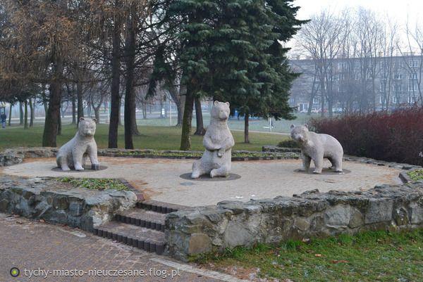 Tychy. Poland. Park Niedźwiadków.