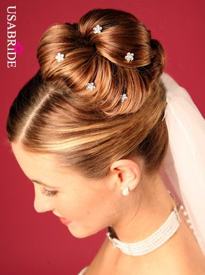 Wedding Hairstyles Dresses Cakes Invitations For Long Hair 2012
