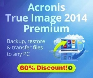 Acronis True Image 2014 Premium Edition (Lifetime) Giveaway