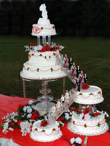 image of a stairs in wedding cake 15 best images about wedding cakes on stairs 16312