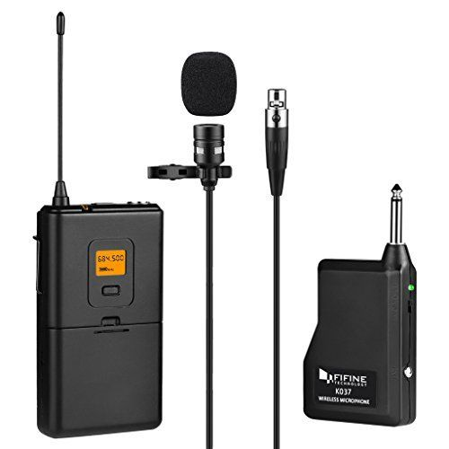 Professional lavalier lapel Microphone / Omnidirectional Condenser mini hands free stereo microphone/includs a full set of black wind muff for indoor background noise cancelling & fuzzy windscreen for outdoor + a compact carry case + silicon cable roller to adjust to the perfect size you want + TRRS 3.5mm connector +TRS adapter +mini USB adapter / can be used on PC & smartphones voice recorder zoom H1 camcorders and external Gopro microphone on gopro Hero 3/3+/...