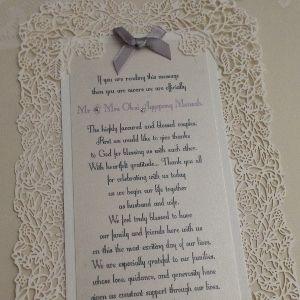 ReSpoke Boutique. Handmade luxury wedding stationery