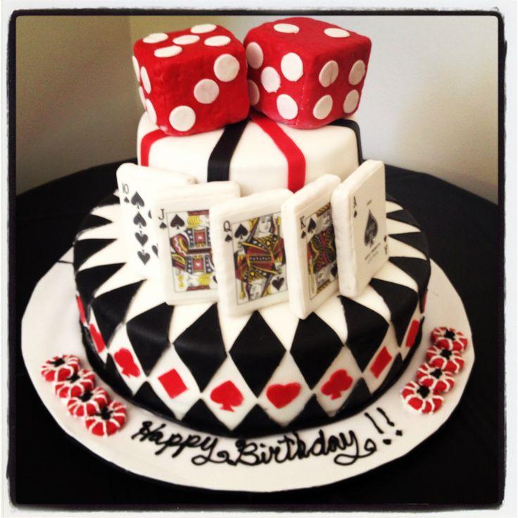 Casino Party Cake!!!