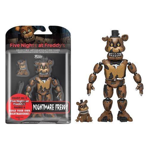 Five Nights at Freddy's Nightmare Freddy 5-Inch Figure