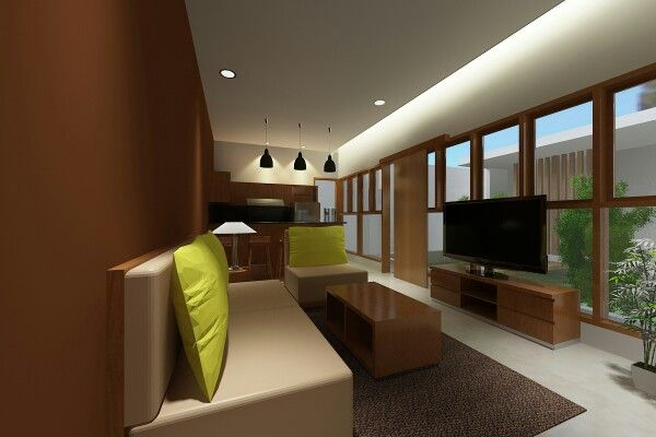 Boarding house living area for final project