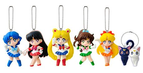 Official Japanese Sailor Moon Gashapon / Vending Machine Phone Charms / Straps  http://www.moonkitty.net/reviews-buy-sailor-moon-phone-cases-straps-charms.php #SailorMoon