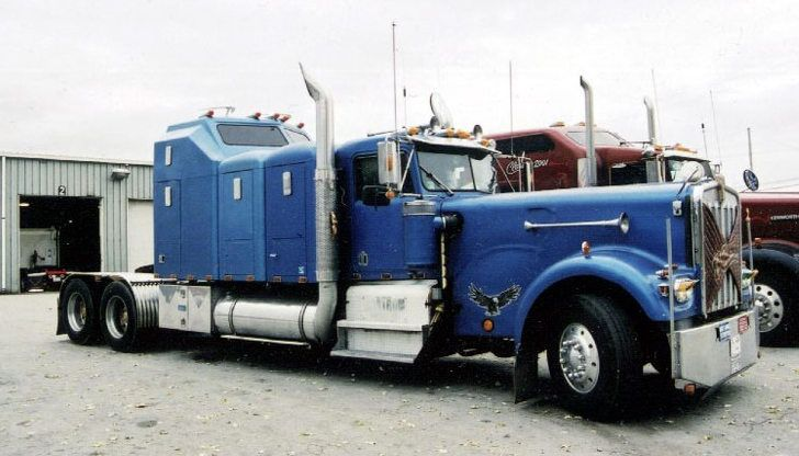 Semi Truck Hoods : Images about custom sleepers on pinterest