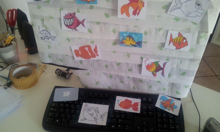 Ritornare in ufficio e trovare un bel #pescedaprile! In VoxArt è possibile.  #picoftheday #instamood #instagood