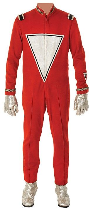 "Robin Williams ""Mork from Ork"" signature space-suit costume for Mork and Mindy."