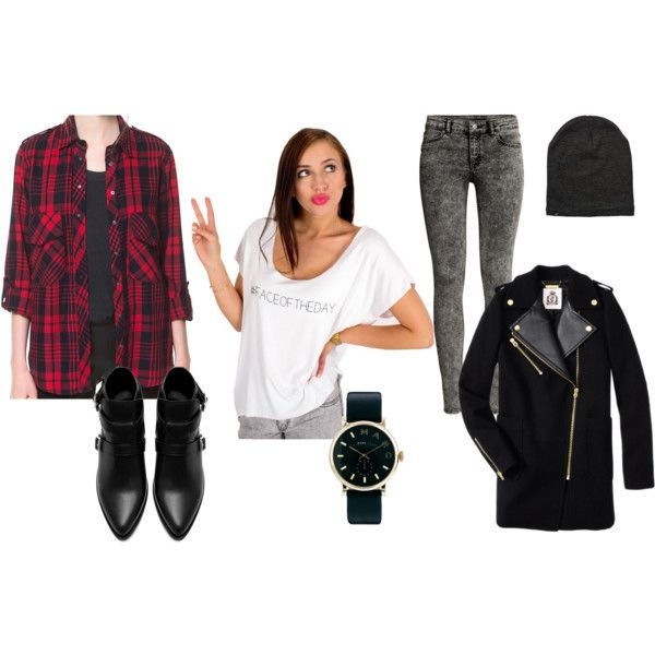 """#tartan"" by byrianne on Polyvore"