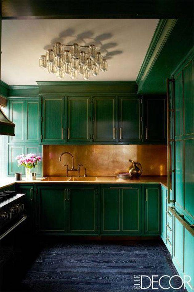 Encimera de cobre para la cocina
