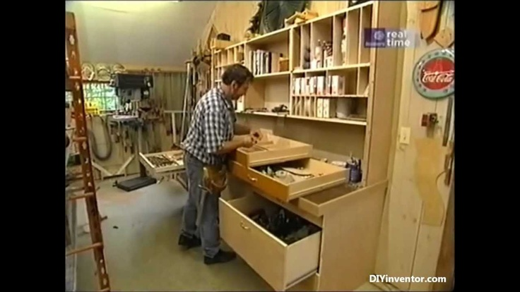 How To Build A Workshop Storage Hutch - Norm Abram (New Yankee Workshop), via YouTube. | shop ...