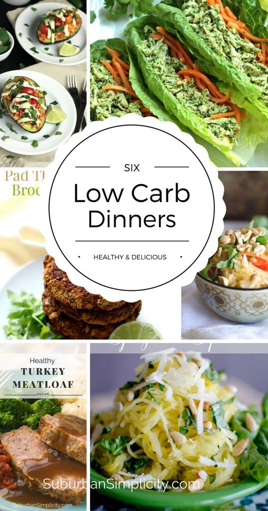 Try these healthy and delicious low carb dinner recipes. These flavorful, gluten-free meals will help you eat right all week long!
