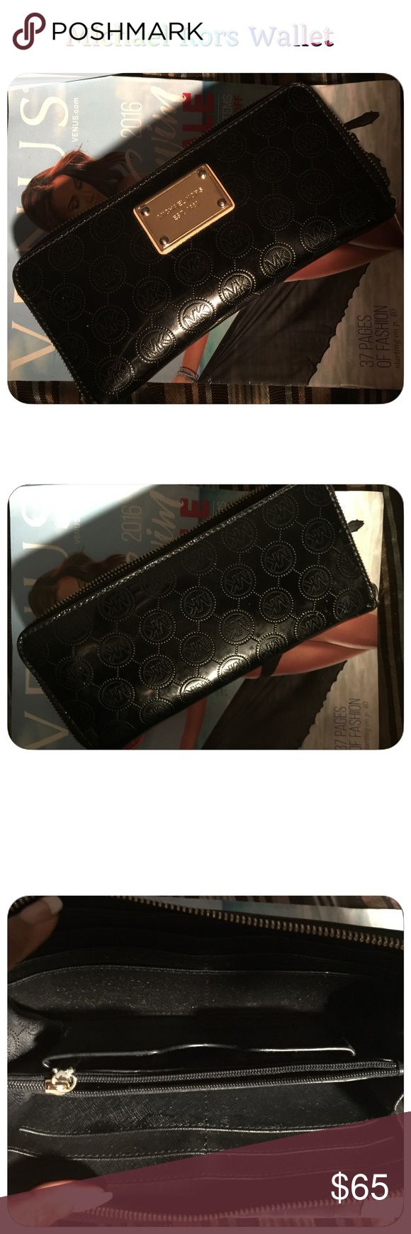 Michael Kors Black Wallet (Today Only) Very cute Michael Kors Bags Wallets