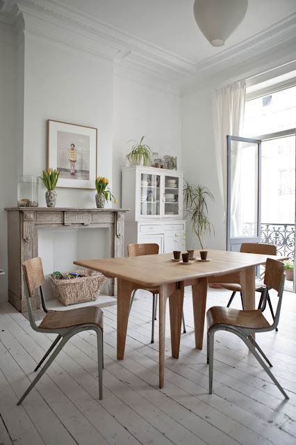 #white #dining #room #decor