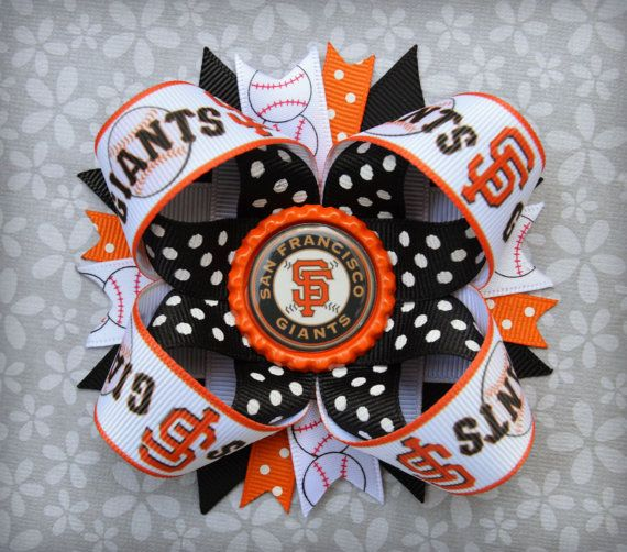 San Fransico Giants Baseball Inspired by UnderTheSeaBowtique