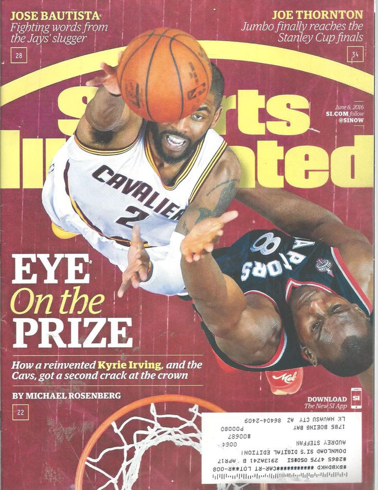Kyrie Irving Cavaliers Basketball Sports Illustrated Magazine June 6 2016   #doesnotapply