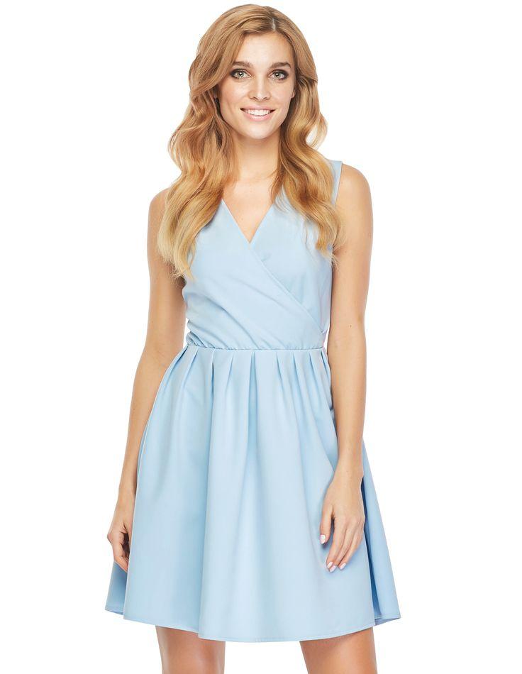Sukienka Mila w kolorze błękitnym
