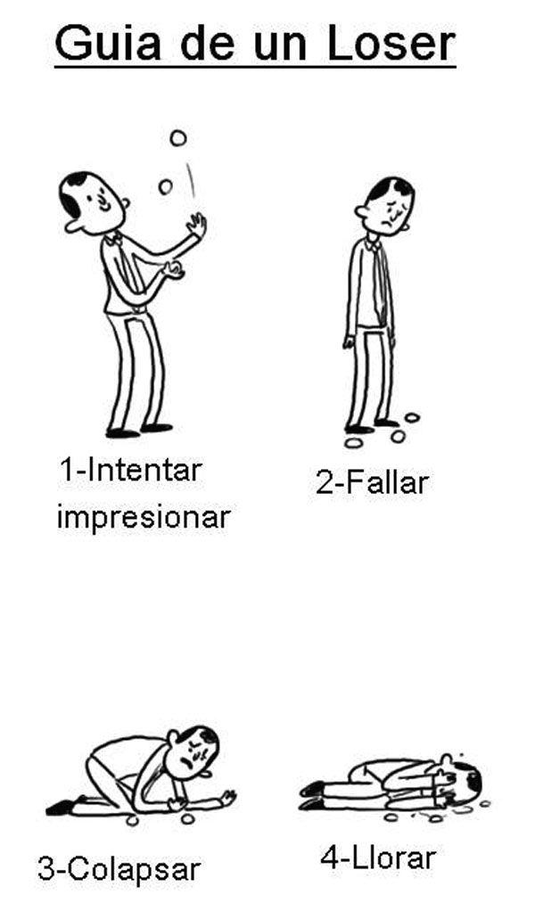 Guía de un loser. #humor #risa #graciosas #chistosas #divertidas