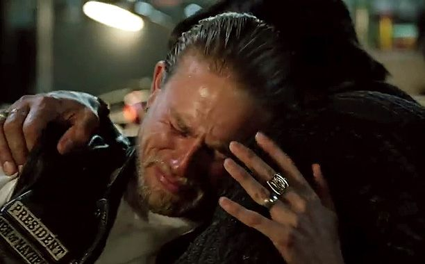 """Spoiler alert: All was revealed in the Nov. 18 episode of Sons of Anarchy, """"Suits of Woe,"""" which includedthree of theseries' finestscenes: http://insidetv.ew.com/2014/11/19/sons-of-anarchy-jax-juice-nero-truth/ #SOA"""