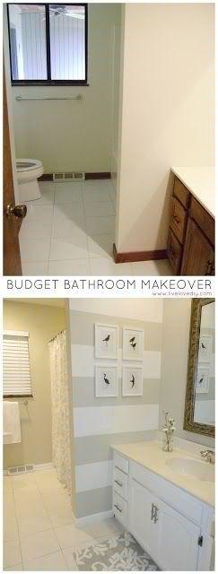 Bathroom Transformation, so easy!