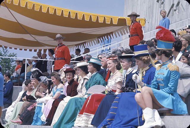 Canada Day ceremony at Expo 67. (item 1)