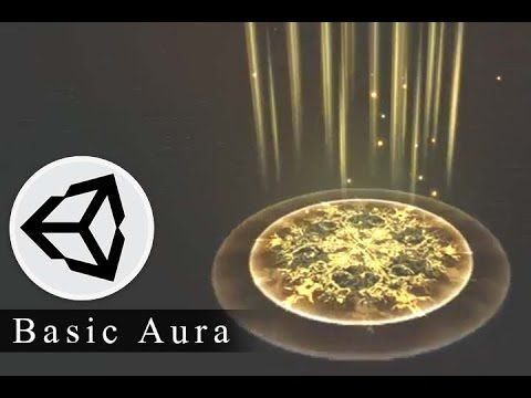 Effect Animation - How to creat 3d effect animation for game Basic Aura - Unity…