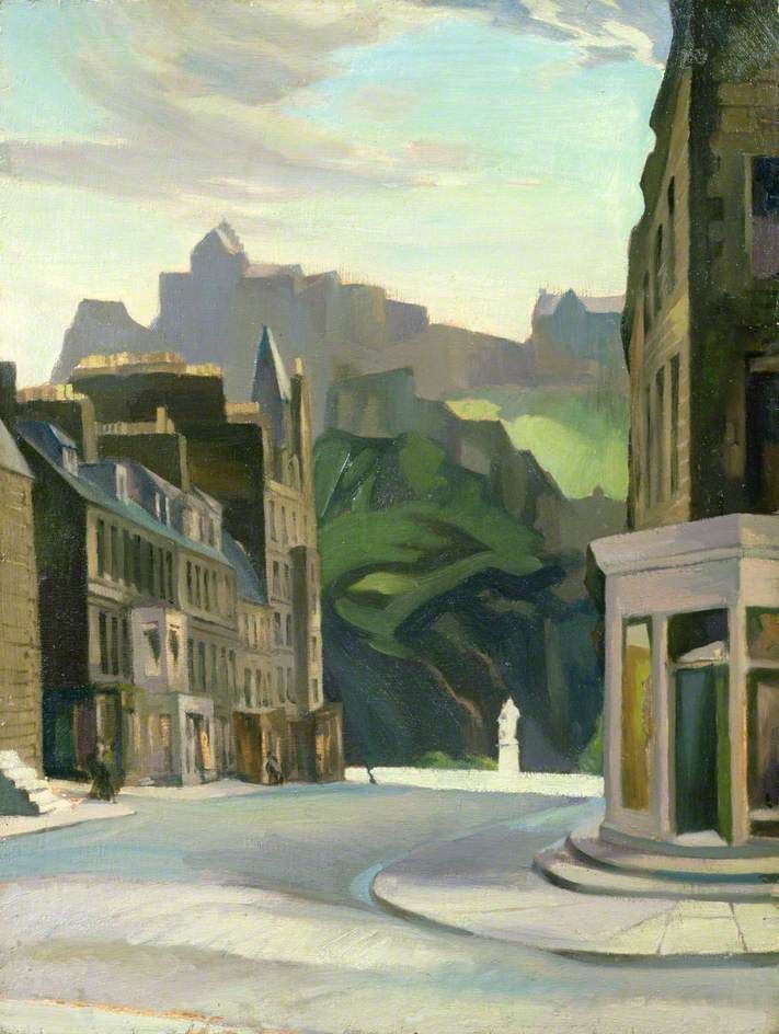'Edinburgh from Castle Street' by William Crozier