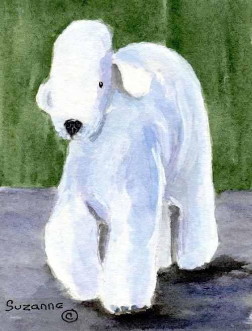 Bedlington Terrier Flag Garden Size SS8683GF