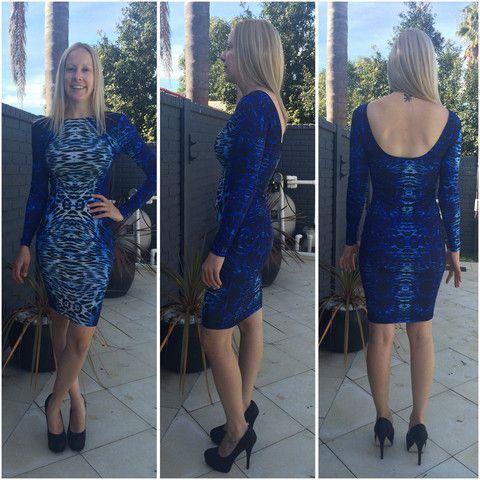 Kardashian Kollection Python Dress - LIMITED EDITION, SALE $20 OFF!