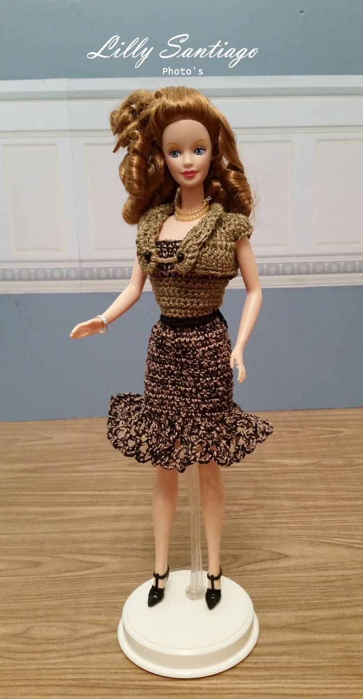 Crochet dress by Lilly Santiago