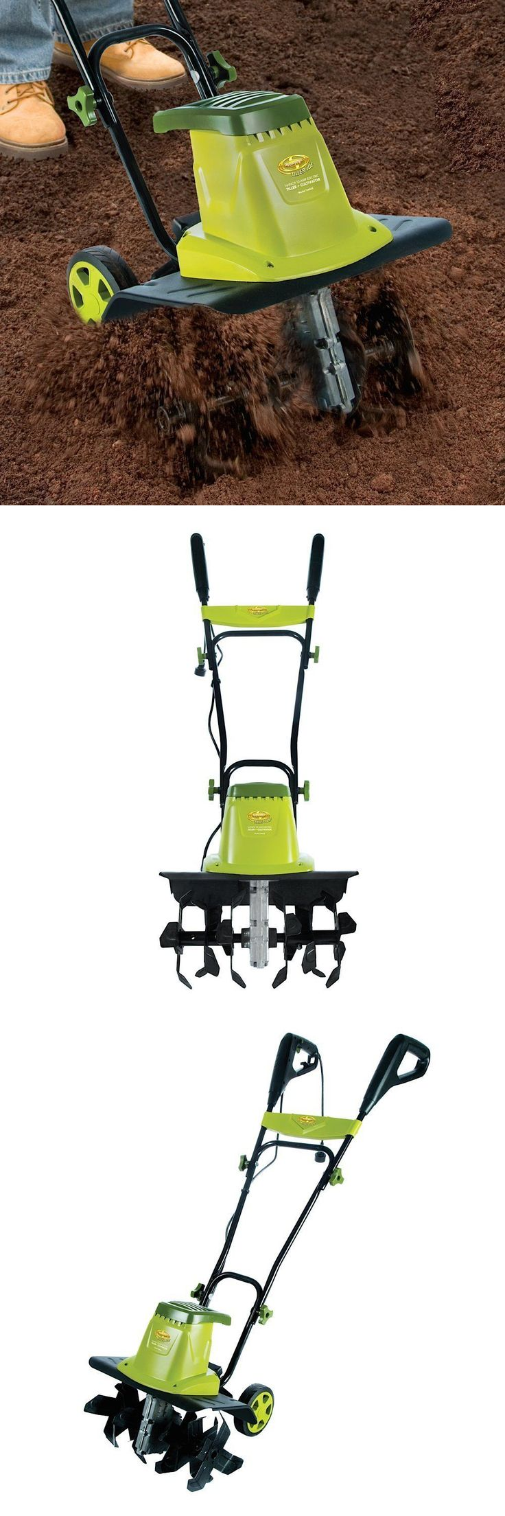 Tillers 29519: Rotary Tiller Electric Front Tine Cultivator Dirt Garden Power Yard Rototiller -> BUY IT NOW ONLY: $167.99 on eBay!