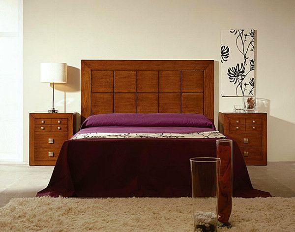Las 25 mejores ideas sobre cabeceras de cama modernas en for Recamaras de madera modernas king