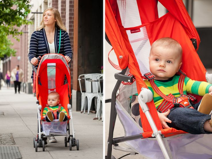 Best City Strollers: @Maclarenbaby Mark II and PS how cute is that munchkin!