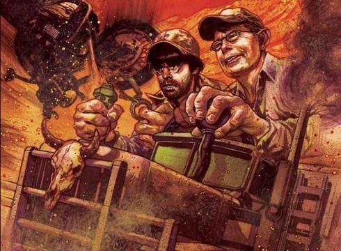 Stephen Kings/Joe Hill Throttle Comic Book (from their novella)