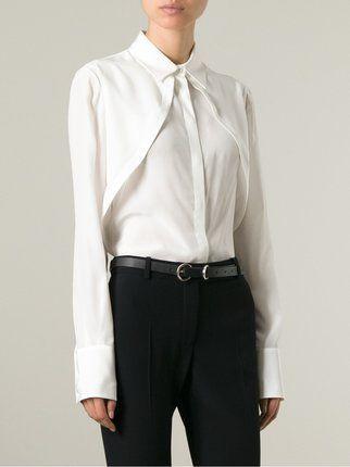 Alexander McQueen плиссированная блузка