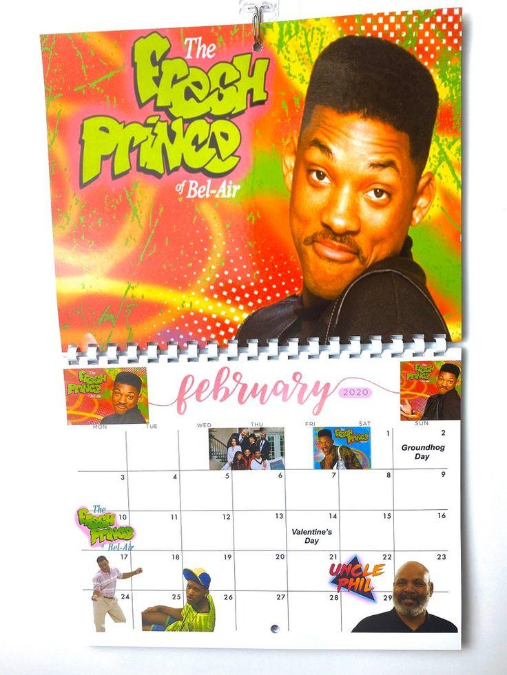 Black 90s TV shows 2020 Calendar Etsy in 2020 90s tv