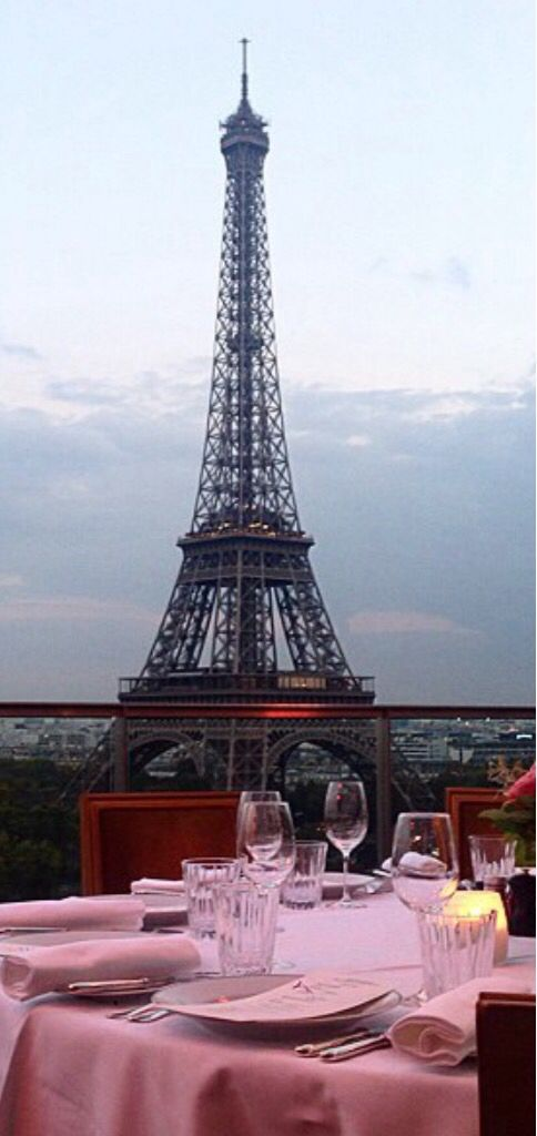 Dining with  a view in Paris