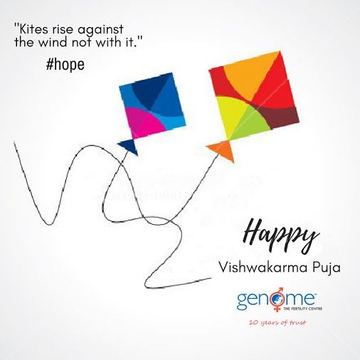 GENOME The #Fertility Centre wishes you Happy #Vishwakarma Puja!