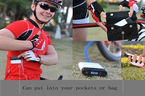 Smart Air Pump 2-in-1 Inflator Electric High Pressure Pump  With this Smart Air Pump you'll never be left with a flat tyre on your car, motorbike or bicycle and you can easily pump up the footy.  Smart Air Pump is small enough to carry with you...