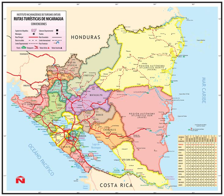 Best Nicaragua Images On Pinterest Central America South - Nicaragua map hd