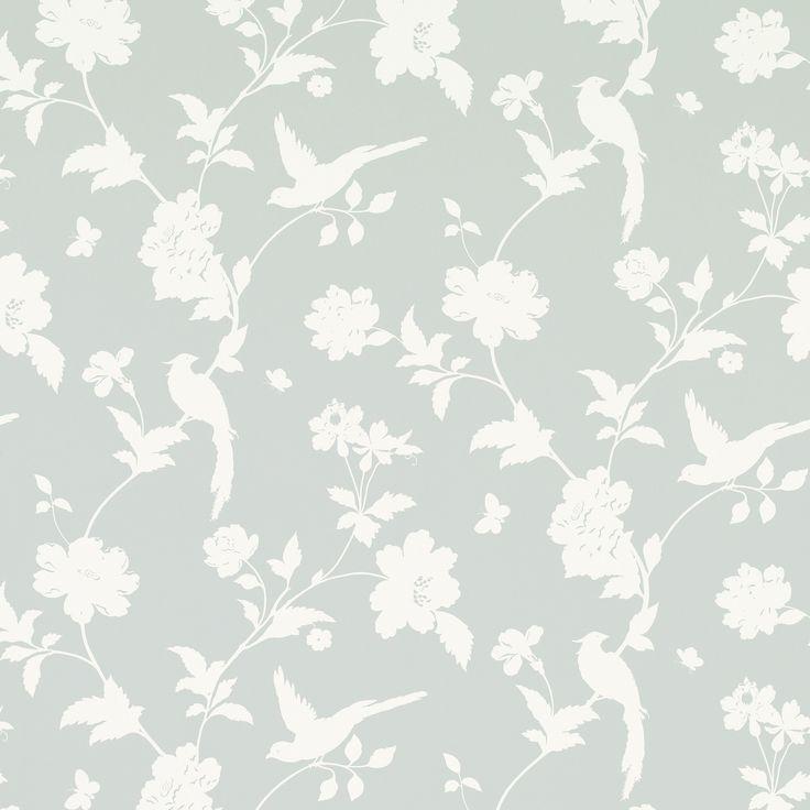 Farleigh Dove Grey Wallpaper